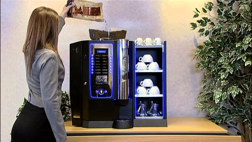 Delightful Coffee To Cup Machines Part - 14: Roma Bean To Cup Coffee Machine - YouTube