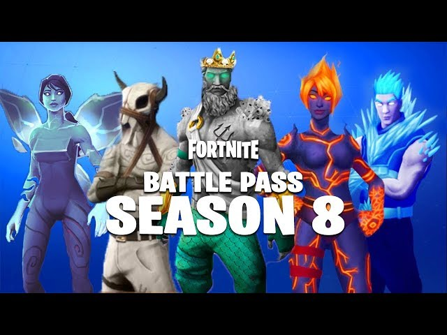 FORTNITE SEASON 8 BATTLE PASS | AVAILABLE NOW