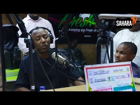 Omoyole Sowore - We put them first in their place on radio, time to put them out of business!