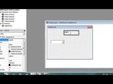 Lista De Opciones En Cuadro Combinado Con Visual Basic