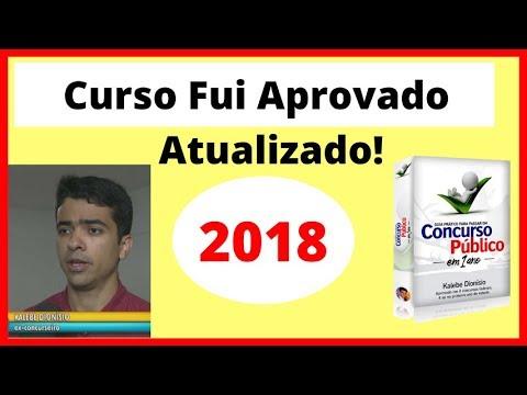 Vídeo Curso concurso publico sp