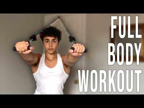 Full Body Resistance Band Workout (At Home Workout)
