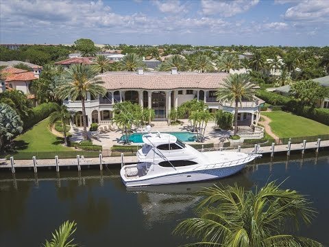 Luxury Homes In Florida | Waterfront Estate | 380 East Coconut Palm Road Boca Raton, Florida