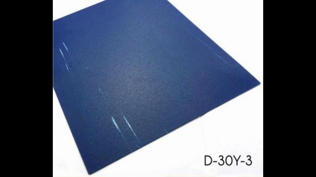Wholesale Non Slip Homogeneous Blue Square Vinyl Floor Tiles for ...