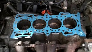 Head Gasket Replacement Honda Accord Vtec F22b1 And Cam Tower Installation