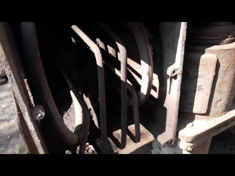 Замена шланги на цилиндре выдвижения аутригера.