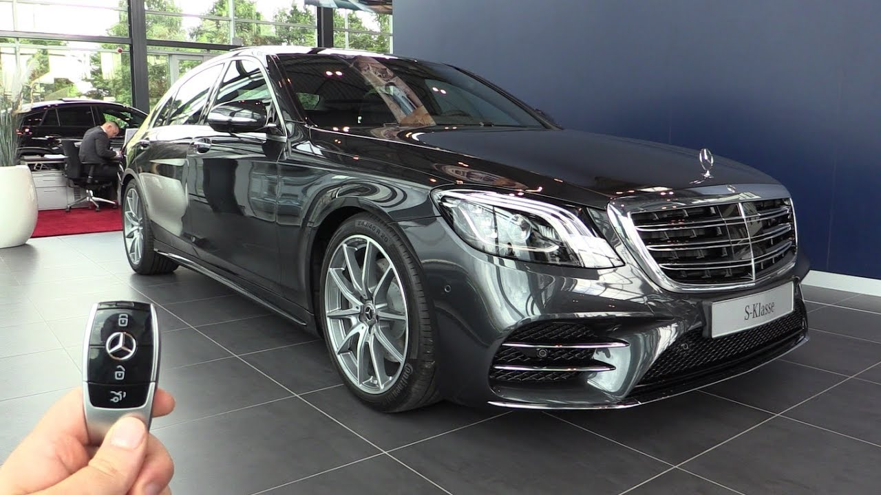 2018 Mercedes S Class L AMG In Depth Review New Interior ...