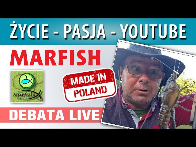 DEBATA ➤ Marek Malman MARFISH - życie i pasja...
