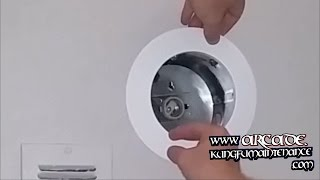 How To Add Recessed Lighting Can Light Cover Install Finish Trim Maintenance Remodeling Repair Video