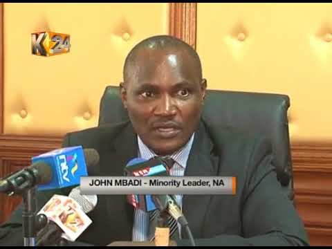 Godec urges NASA and Jubilee to resolve contentious election issues