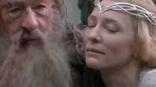 Hobbit. Dol Guldur: Gandalf and Galadriel (B5A Extended Edition/Behind the Scenes)