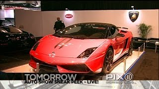 Tomorrow's PIX11 Morning News - live at the Auto Show!