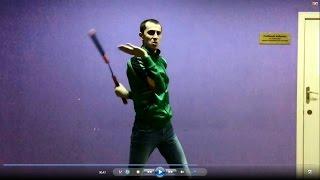 Нунчаку видео уроки- связка из перехватов (nunchaku slow motion)
