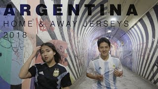 Argentina 2018 Home and Away Jerseys