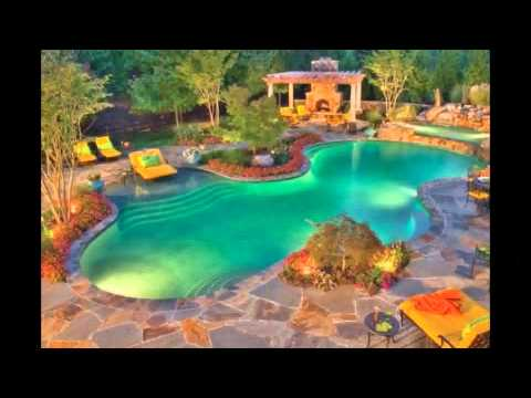 Best Tropical Swimming Pool Design Ideas Plans Waterfalls Design