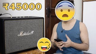 Marshall Woburn Bluetooth Speaker Unboxing & Review