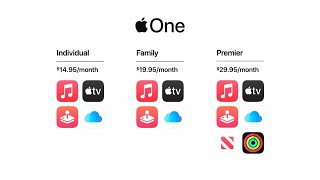 Apple Unveils Apple One Subscription Bundle