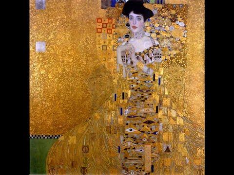 Gustav Klimt (1862 - 1918) Austrian painter ✽ Ludwig van Beethoven - Romance No. 2