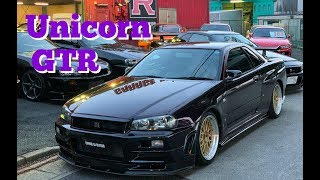 Nissan Skyline GTR R34 sale. JDM cars for sale at Garage Defend