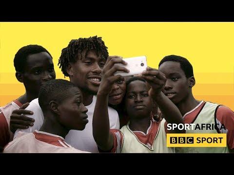 When Alex Iwobi went to Lagos, Nigeria - BBC Sport Africa
