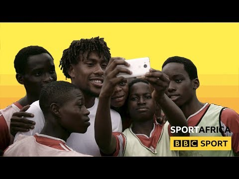 When Alex Iwobi went to Lagos, Nigeria - BBC Sport Africa