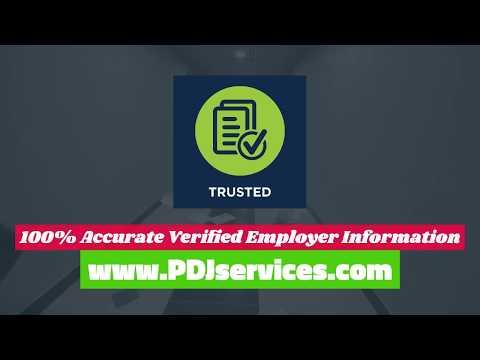 PDJservices - We Locate Active Employment Info