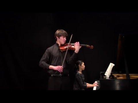 Paganini Concerto No 1, 1st mvt,  Nathan Meltzer