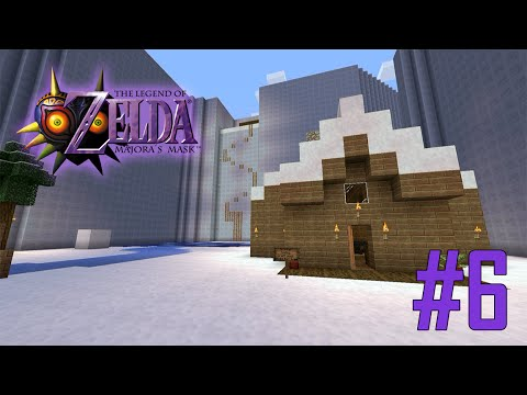 Majoras Mask Legend of Zelda Minecraft Adventure Map - Ep 6 w/Download