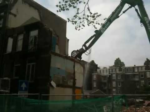 Building Demolition | Wibautstraat, Amsterdam, The Netherlands