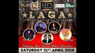 Leicester Asian Glitz Awards 2018 LAGA (Advert)