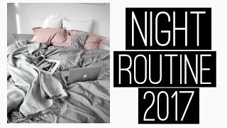 night routine 2017 work edition