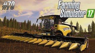 NAJWIĘKSZY KOMBAJN - New Holland CR10.90 - Farming Simulator 17 #79