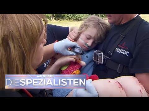 Kind mit Asthma verschwunden - Lilli wo bist du?   Auf Streife - Die Spezialisten   SAT.1 TV
