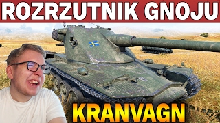 ROZRZUTNIK GNOJU - Kranvagn - 1 vs 5 - Bitwa - World of Tanks
