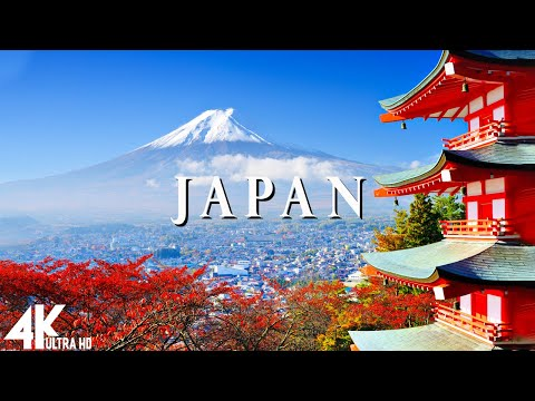Japan 4K - Relaxing Music Along With Beautiful Nature Videos
