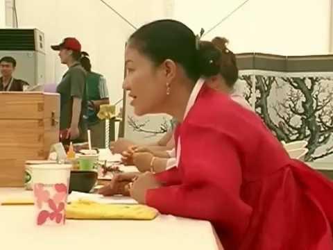 Korean Shaman (Mudang 무당) Writing Charms of Protection