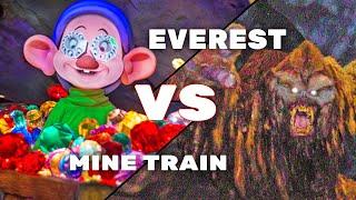 SEVEN DWARFS MINE TRAIN vs EXPEDITION EVEREST - ITM Ultimate Attraction Showdown
