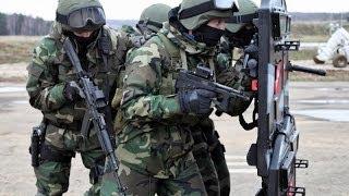 Артёмовск 24 апреля 2014 Альфа захватила воинскую часть