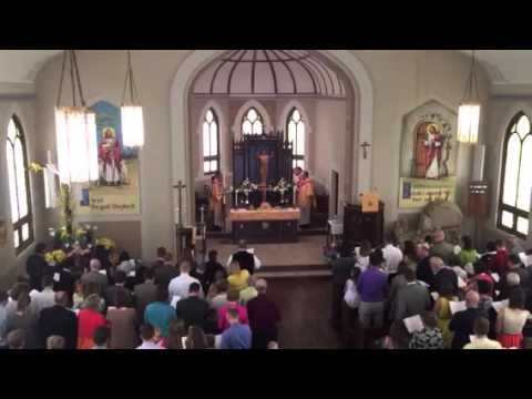 Download Procession out of church