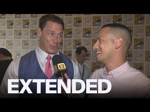 John Cena Talks 'Bumblebee', Love Of BTS At ComicCon