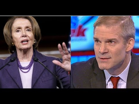 PELOSI FLOATS WILD CONSPIRACY THEORY ON JIM JORDAN AFTER HE ANNOUNCES RUN FOR SPEAKER!
