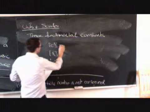 Lecture 1 | Quantum Field Theory (Cambridge) 剑桥大学 量子场论 1