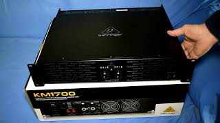 Amplificatore finale di potenza Behringer KM 1700