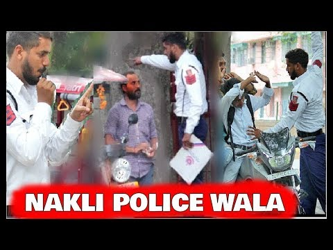Fake DELHI TRAFFIC POLICE prank | Prank in India 2018