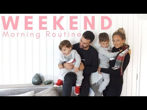 WEEKEND MORNING ROUTINE   MUM/MOM OF TWO   Lucy Jessica Carter