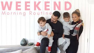 WEEKEND MORNING ROUTINE | MUM/MOM OF TWO | Lucy Jessica Carter