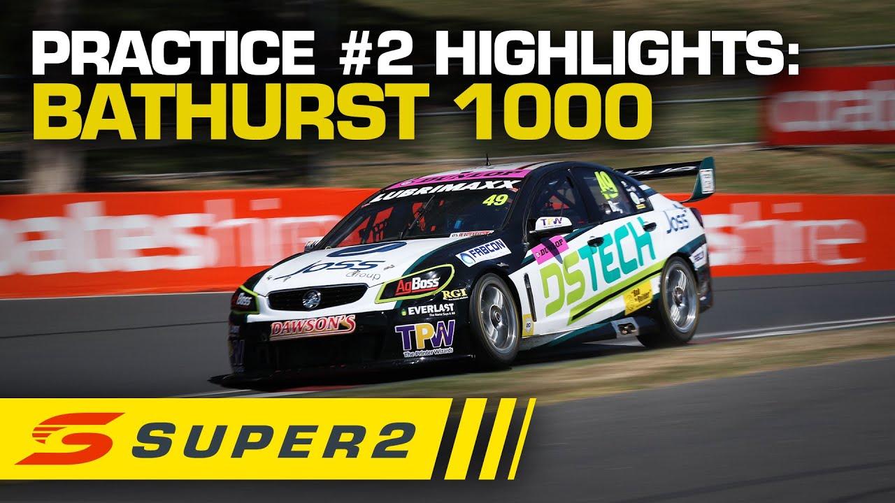 Highlights: Practice #2 - Supercheap Auto Bathurst 1000 | Super 2 2020