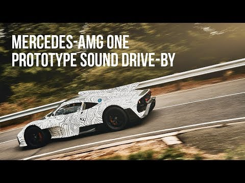 Mercedes-AMG One Prototype Sound Drive-by