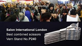 Salon International London 2018.The latest Vern Scissors-Deluxe Line is launched now.(Stand NO.N180)