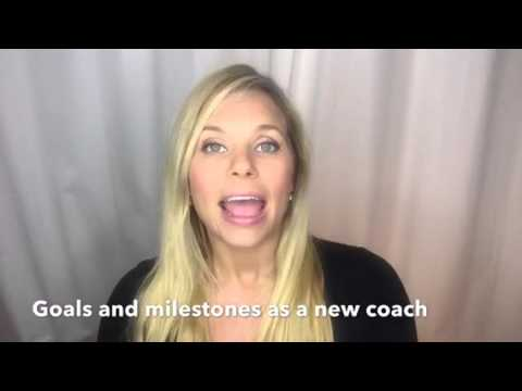 Goals and milestones to hit as a new coach